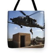 A U.s. Air Force Pararescuemen Fast Tote Bag by Stocktrek Images