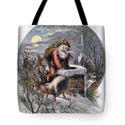 A Visit From St Nicholas Tote Bag by Granger