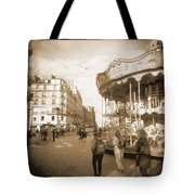 A Walk Through Paris 4 Tote Bag by Mike McGlothlen