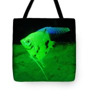 A Yellow Fish  Tote Bag by Jeff Swan