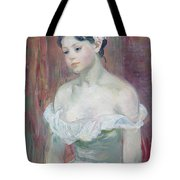 A Young Girl Tote Bag by Berthe Morisot