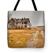 Abandoned Farm House Tote Bag by Cale Best