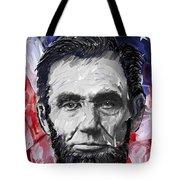 Abraham Lincoln - 16th U S President Tote Bag by Daniel Hagerman