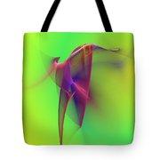Abstract 091610 Tote Bag by David Lane