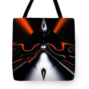 Abstract 4-22-09 Tote Bag by David Lane