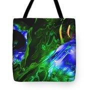 Abstract 7-25-09-1 Tote Bag by David Lane