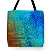 Abstract Art  Painting Freefall By Ann Powell Tote Bag by Ann Powell
