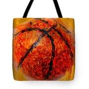 Abstract Basketball Tote Bag by David G Paul