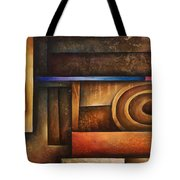 Abstract Design 30 Tote Bag by Michael Lang