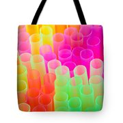 abstract drinking straws Tote Bag by Meirion Matthias