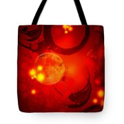 Abstract-nebula Tote Bag by Patricia Motley