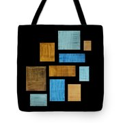 Abstract Rectangles Tote Bag by Frank Tschakert