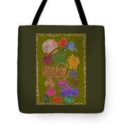 Abstract Shapes Tote Bag by Joseph Baril