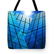 Abstract Skyscrapers Tote Bag by Setsiri Silapasuwanchai