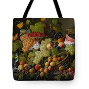 Abundant Fruit Tote Bag by Severin Roesen