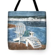 Adirondack Chair Tote Bag by Debbie DeWitt