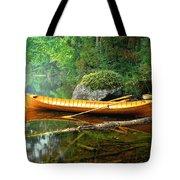 Adirondack Guideboat Tote Bag by Frank Houck