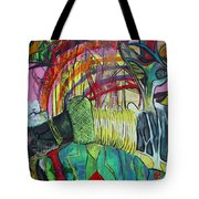 African Roots Tote Bag by Peggy  Blood