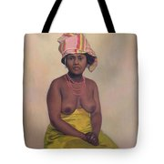 African Woman Tote Bag by Felix Edouard Vallotton