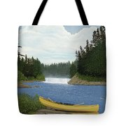 After The Rapids Tote Bag by Kenneth M  Kirsch