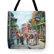 Afternoon On St. Ann Tote Bag by Dianne Parks