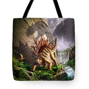 Against The Wall Tote Bag by Jerry LoFaro