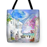Agua Amarga 06 Tote Bag by Miki De Goodaboom