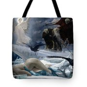 Ahasuerus At The End Of The World Tote Bag by Adolph Hiremy Hirschl