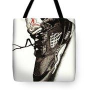 Air Jordan Tote Bag by Robert Morin