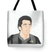 Alessandro Del Piero Tote Bag by Toni Jaso