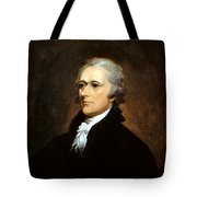 Alexander Hamilton Tote Bag by War Is Hell Store