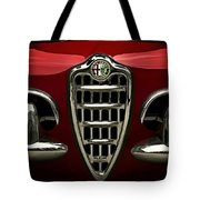 Alfa Red Tote Bag by Douglas Pittman