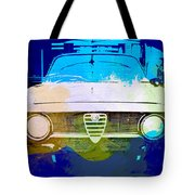 Alfa Romeo Watercolor Tote Bag by Naxart Studio