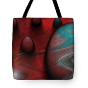 Alien Nation Tote Bag by Linda Sannuti