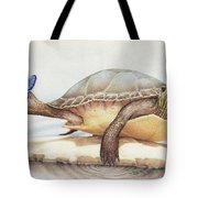 Alight On Her Toes Tote Bag by Amy S Turner