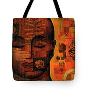 All Seeing Tote Bag by Gloria Rothrock