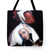 Allegory of Fishing Tote Bag by Patrick Anthony Pierson