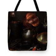 Allegory Of The Four Elements Tote Bag by Cornelis Jacobsz Delff