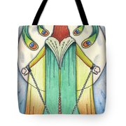 Alone At Moonrise Tote Bag by Amy S Turner