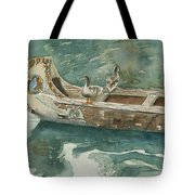 Along For The Ride Tote Bag by Arline Wagner