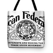 American Federationist Tote Bag by Granger