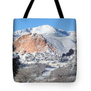 America's Mountain Tote Bag by Eric Glaser