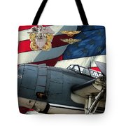 An American Tbf Avenger Pof Tote Bag by Tommy Anderson