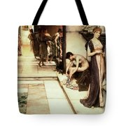 An Apodyterium Tote Bag by Sir Lawrence Alma-Tadema