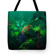 An Octopus's Garden Tote Bag by David Lane