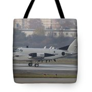 An Rc-12x Guardrail At Wiesbaden U.s Tote Bag by Timm Ziegenthaler