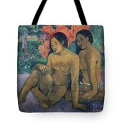And The Gold Of Their Bodies Tote Bag by Paul Gauguin