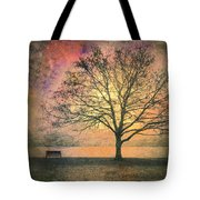 And The Morning Is Perfect In All Her Measured Wrinkles Tote Bag by Tara Turner