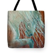 Andalusian Stallion Tote Bag by Jani Freimann