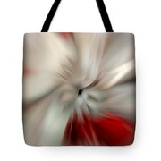 Angel In Battle Tote Bag by Lauren Radke